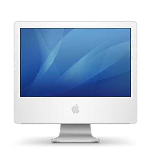 """iMac Intel, White 17"""""""