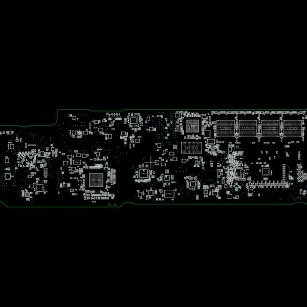 MacBook Air 13 Mid 2017 A1466 820-00165 Schematics and Boardview