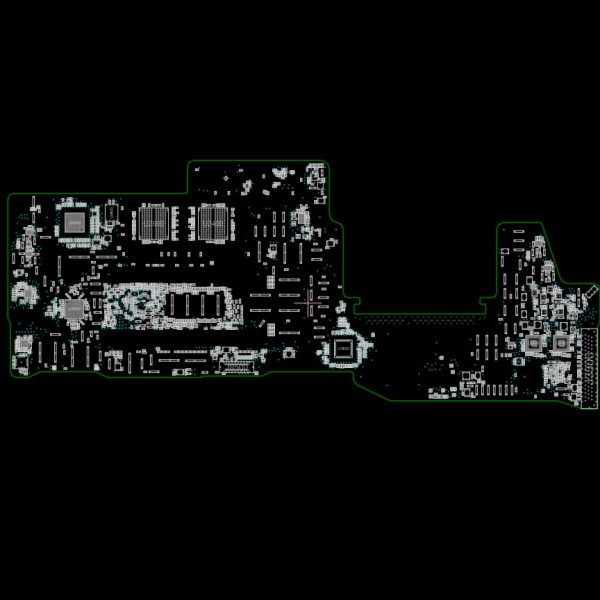 MacBook Pro Retina 13 Mid 2017 Function Key A1708 820-00840-A Schematics and Boardview