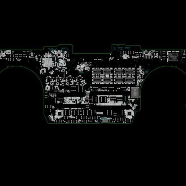 MacBook Pro Retina 15 Mid 2018 A1990 820-01041 schematics boardview