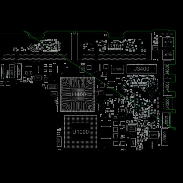 MacBook Black/White Penryn Early 2008 A1181 820-2279 Schematics and Boardview
