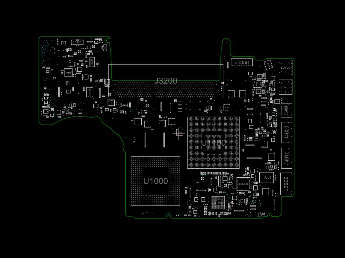 MacBook Unibody Alu late 2008 A1278 820-2327 Schematics and Boardview