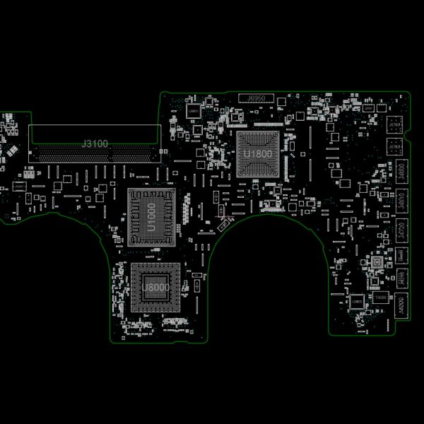 MacBook Pro Unibody 17 Mid 2010 A1297 820-2849 Schematics and Boardview